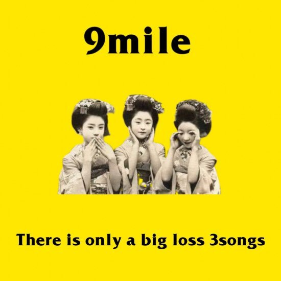 There is only a big loss 3songs