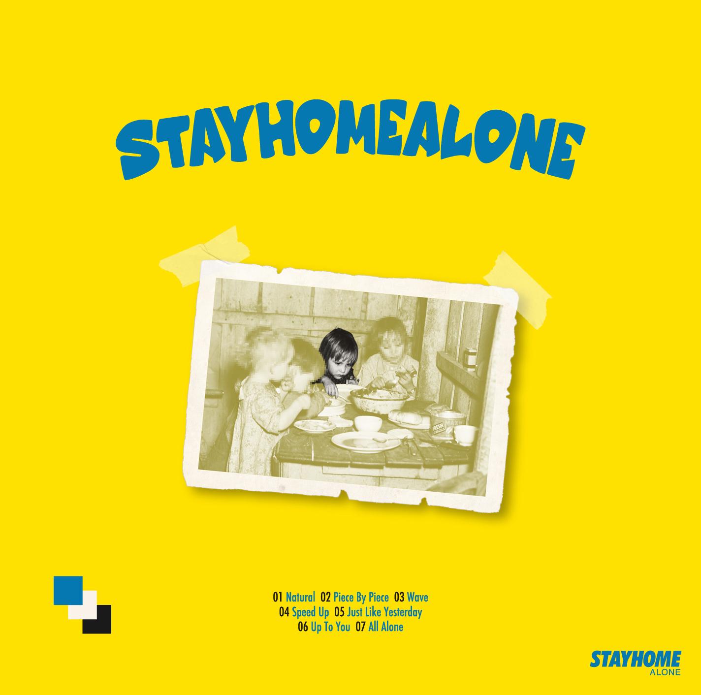 【10月14日(水)発売】STAY HOME ALONE